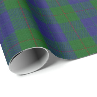 Clan Barclay Scottish Hunting Tartan Wrapping Paper