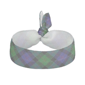 Clan Blair Scottish Blue Green Tartan Hair Ties
