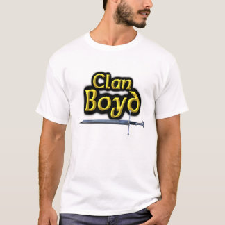 Clan Boyd Inspired Scottish T-Shirt