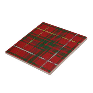 Clan Bruce Scottish Expressions Tartan Tile