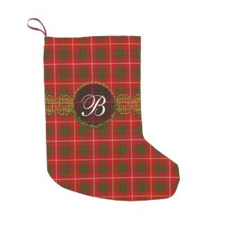 Clan Bruce Tartan Small Christmas Stocking