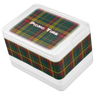 Clan Buchanan Classic Tartan Plaid Igloo Cooler