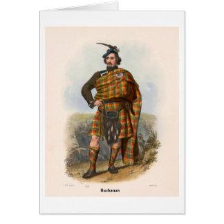 Clan Buchanan Greeting Card