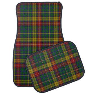 Clan Buchanan Plaid Car Mat Set