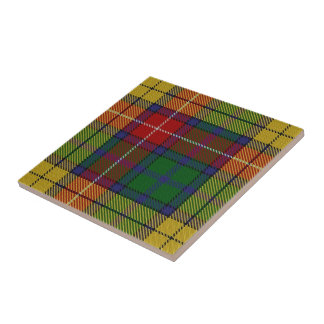 Clan Buchanan Scottish Expressions Tartan Tile