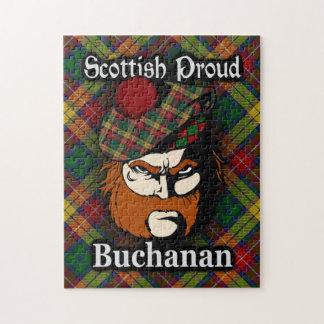 Clan Buchanan Scottish Proud Tartan Puzzle