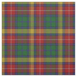 Clan Buchanan Scottish Tartan Plaid Fabric