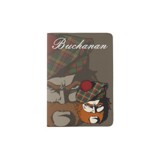 Clan Buchanan Scottish Warrior Passport Holder