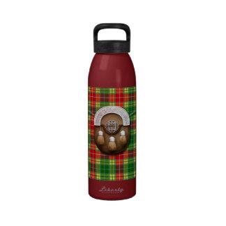 Clan Buchanan Tartan And Sporran Water Bottles