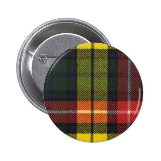 Clan Buchanan Tartan Button