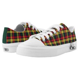 Clan Buchanan Tartan Canvas Low-Top Sneakers