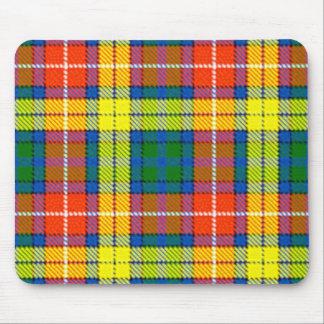Clan Buchanan Tartan Mouse Pad