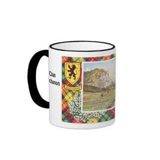 Clan Buchanon, tartan mug