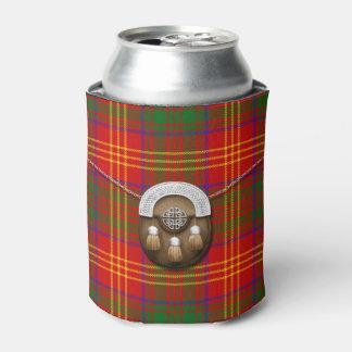 Clan Burns Tartan And Sporran Can Cooler
