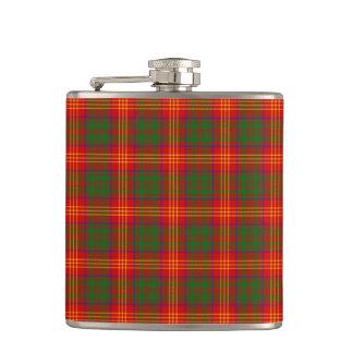 Clan Burns Tartan Hip Flask
