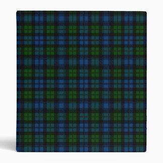 Clan Campbell Military Tartan 3 Ring Binders