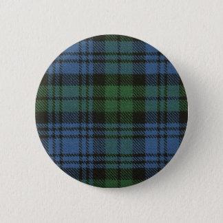 Clan Campbell Tartan Button