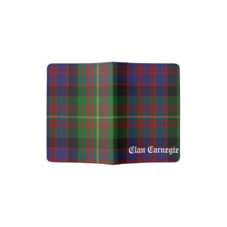 Clan Carnegie Tartan Passport Holder