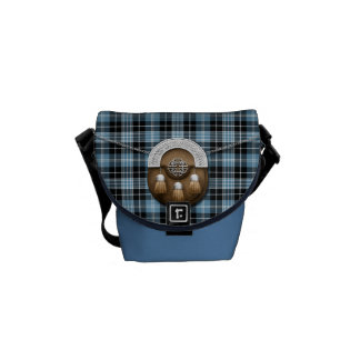 Clan Clark Tartan And Sporran Commuter Bags