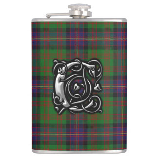 Clan Cochrane Cochran Tartan Old Scottish Flask