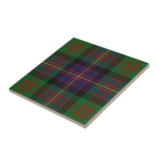 Clan Cochrane Scottish Expressions Tartan Ceramic Tile