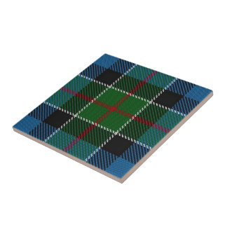 Clan Colquhoun Scottish Expressions Tartan Tile