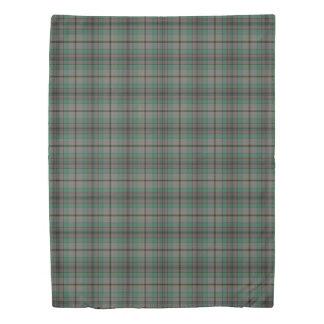 Clan Craig Scottish Accents Tartan Duvet Cover