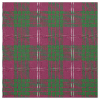 Clan Crawford Scottish Tartan Plaid Fabric