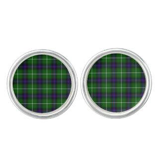 Clan Donald Macdonald Tartan Cufflinks
