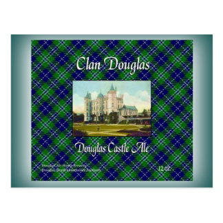 Clan Douglas Douglas Castle Ale Postcard