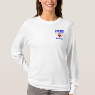 Clan Douglas Ladies Long Sleave T-Shirt