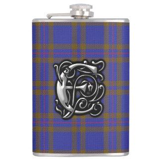Clan Elliot Elliott Tartan Old Scotland Flask
