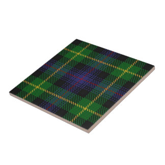 Clan Farquharson Scottish Expressions Tartan Ceramic Tiles