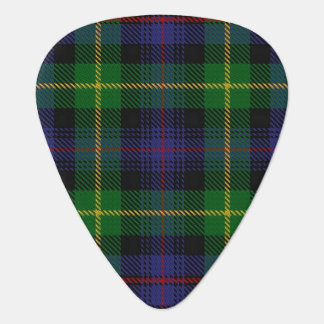 Clan Farquharson Sounds of Scotland Tartan Guitar Pick