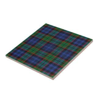 Clan Fletcher Scottish Expressions Tartan Tile