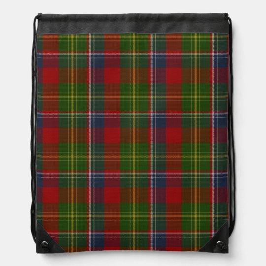 Clan Forrester Tartan Plaid Backpack