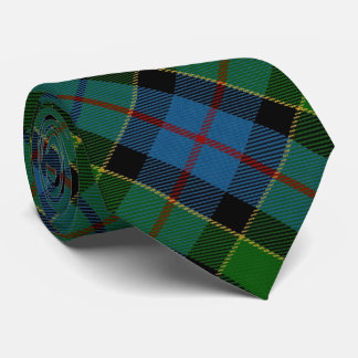 Clan Forsyth Forsythe Letter F Monogram Tartan Tie