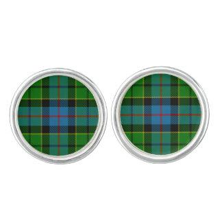 Clan Forsyth Tartan Cufflinks