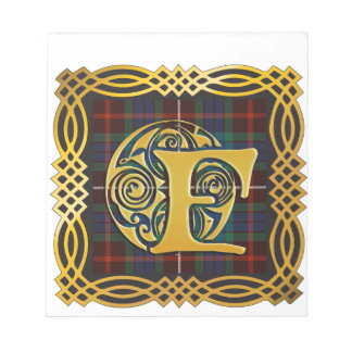 Clan Fraser Ancient Tartan Mug Notepad