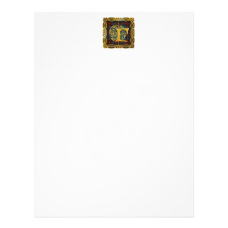 Clan Fraser Ancient Tartan Personalized Letterhead