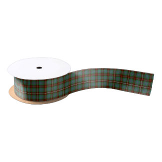 Clan Fraser Hunting Tartan Satin Ribbon