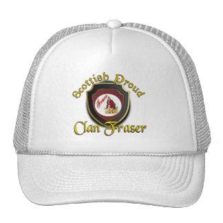 Clan Fraser Scottish Dynasty Cap Trucker Hat