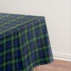 Clan Gordon Dark Blue and Green Scottish Tartan Tablecloth