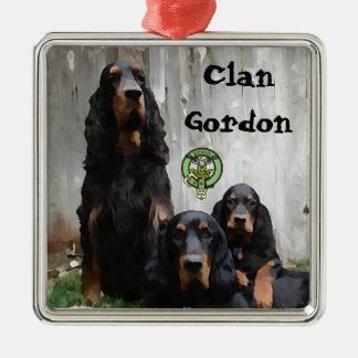 Clan Gordon, Gordon Setter Painted Ornament