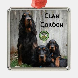 Clan Gordon, Gordon Setter Photo Ornament