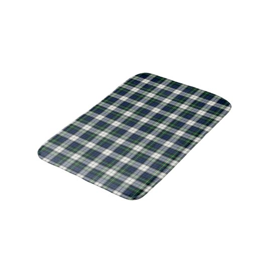Clan Gordon Royal Blue and White Scottish Tartan Bath Mat