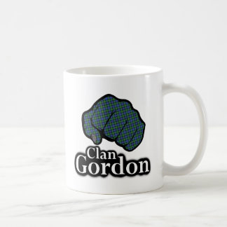 Clan Gordon Scotland Proud Tartan Fist Coffee Mug