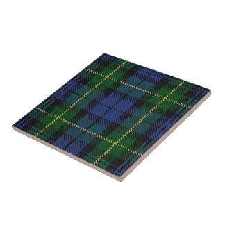 Clan Gordon Scottish Expressions Tartan Tile