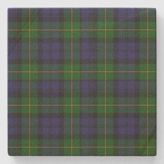 Clan Gordon Tartan Plaid Stone Coaster