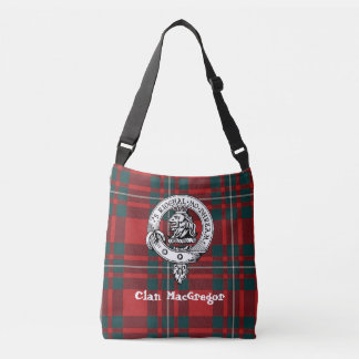 Clan Gregor Cross Shoulder Tote (Poem On Back)